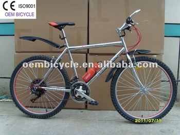cheap 26 inch 21 speed steel frame mountain bike customized mtb bicycle