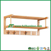 FB8-2089 Wooden Bamboo Wall Mounted Key Holder