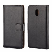 For Nokia 6 Case Stand Leather Flip Case Genuine Leather Wallet Case For Nokia 6 MT-6576