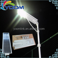 2016 hot sale all in one 40W China intergrated solar power led street light with IP65