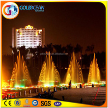 Music Dancing Water Fountain Water Pool Fountain Colorful Light