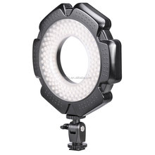 Led smallest camera ring light for video