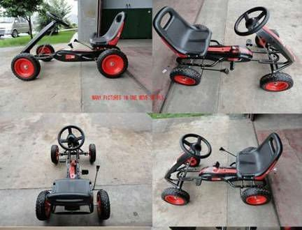 2015 new design Single Seat GoKart with basket GC001T