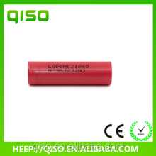Long life high power LG HE2 2500mAh 35amp rechargeable batteries battery 18650 for remote control car