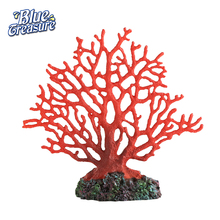 Wholesale manufacture resin product artificial coral for fish tanks