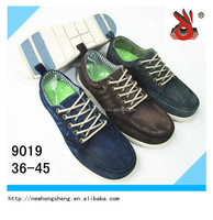 comfortable high quality new design men canvas wash casual shoes