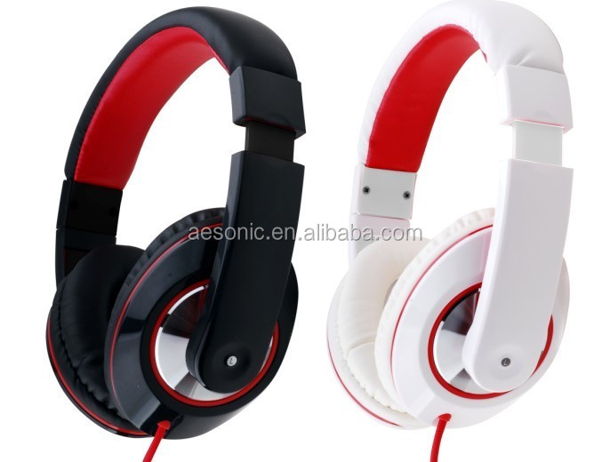 wholesale factory price wired music headphone mobile headphone