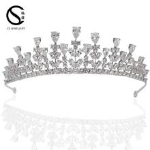 TR15013 Hot sale crown designers big pageant crowns for sale