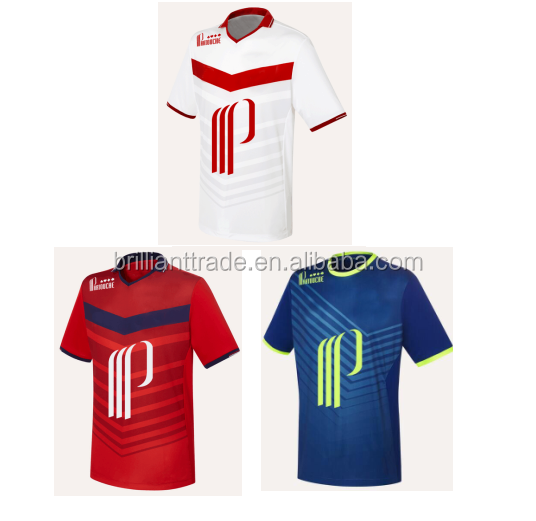 2016 2017 New designs latest football jersey for men
