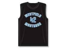 The mesh basketball jersey