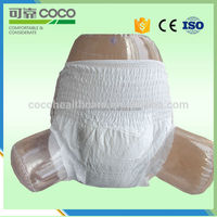 M size COCO company adult diaper underwear factory in China, with super absorbency