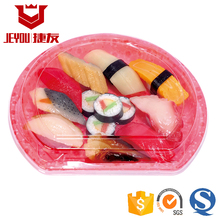 JY83103 Disposable Plastic Sushi Plate FDA Food grade plastic box
