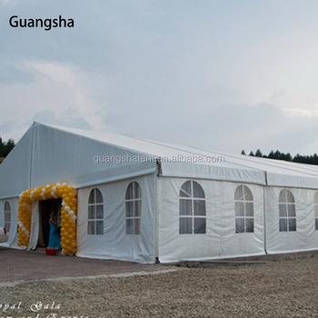 Classic clear span marquee foroutdoor wedding, party, activity with decoration
