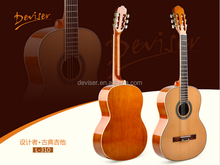 oem factory price 39inch thin body nylon travel classical guitar