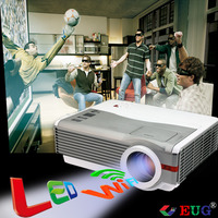 EUG X99+A with tv cheapest led mini projector holographic projector Wifi