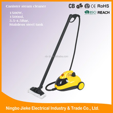 1500W stainless hevy duty high pressure industrial steam cleaner for car