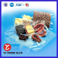 Alibaba costom Vacuum shrink packaging plastic bag for meat,pork,chick,mutton,beef,fish etc