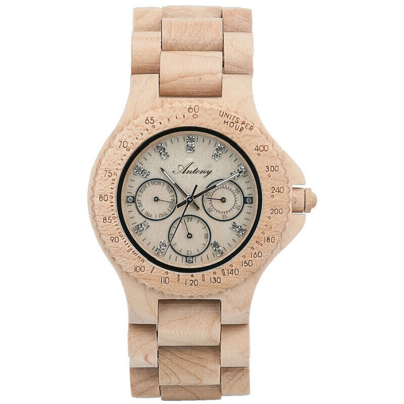 New style bamboo wood clock watch shenzhen factory