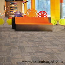 Factory sales cheap modular scrape carpet floor carpet tile