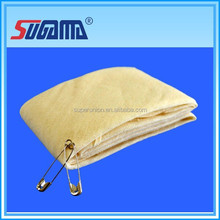 Bleached medical dressing comfortable breathable gauze triangular bandage