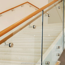 frameless glazing detail / steel glass balustrade