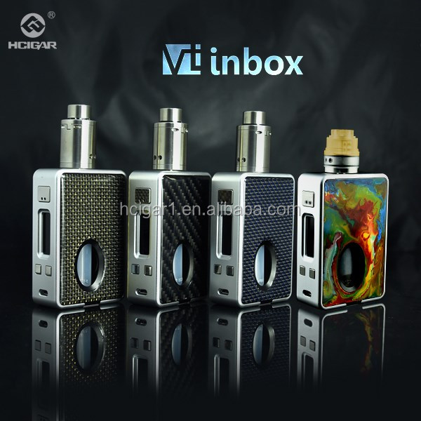 2016 HCigar newest vapor Evolv dna75 squonk mod with maze v2 single 18650 hcigar vt inbox