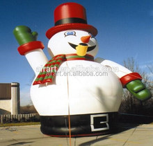 the new 2017 Outdoor decoration inflatable snowman Christmas inflatable model