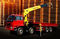 XCMG SQ2SK2Q 2.1ton straight arm truck -mounted crane jib crane truck 2 ton mini truck-mounted crane