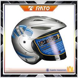 high quality professional half face cub motorcycle helmet for men for women