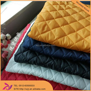 winter single sided quilted fabric fabirc for jacket