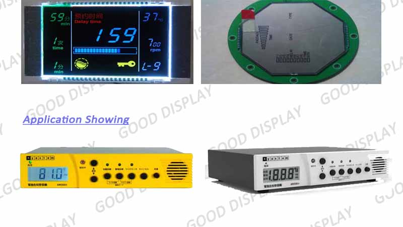Low power consumption Segment COG LCD