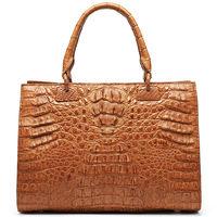 N1114 Wholesale luxury real crocodile leather lady shoulder bag