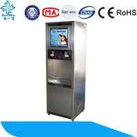 two taps ss 304 hot and cold ro water dispenser/reverse osmosis ro water vending machine