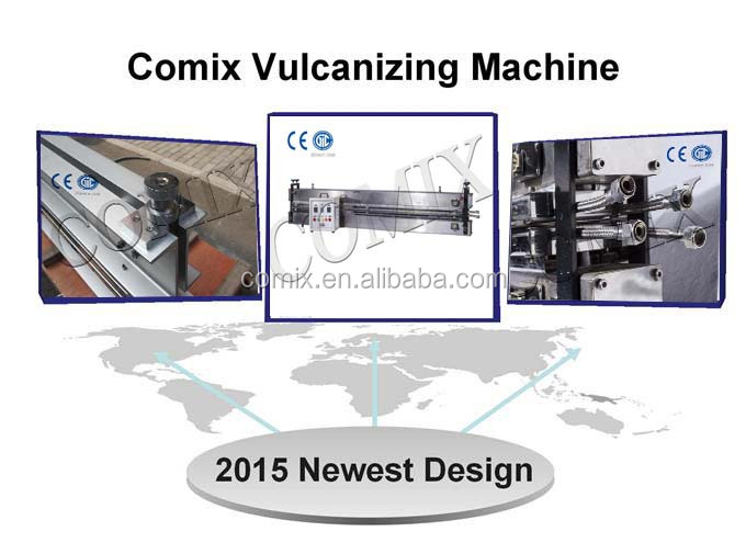 Wuxi COMIX PU PVC Portable Conveyor Belt Vulcanizing Machine joint machine