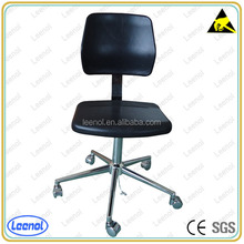 Cheap esd pu chair with adjustable legs