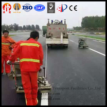 road marking paint machines thermoplastic preheater double cylinder