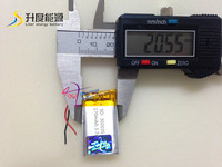 new battery Li-polymer 302035 170mAh 3.7V Battery Manufacturer with CE,ROHS,UL certificates