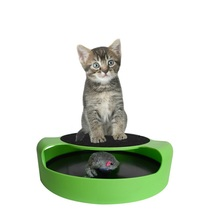 2017 amazon Hot selling catch the mouse Motion-activated cat toys with scratch pad as seen on tv 2017