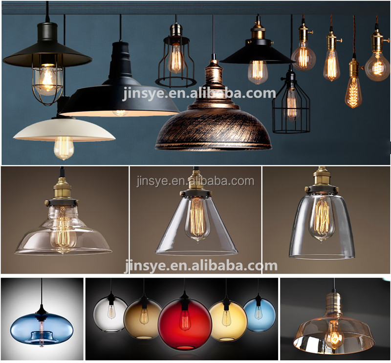 retro loft style iron chandeliers ceiling fixtures light cage lamp pendant lighting