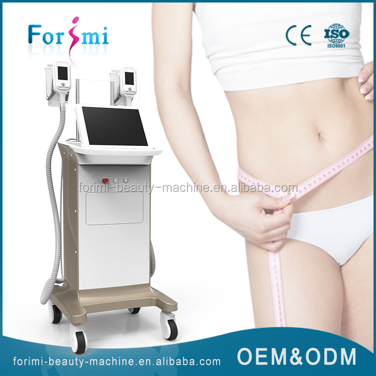 Factory price cryolipolysis beauty machine with 15 inch big screen and obvious effect