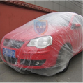 Plastic Material and dust proof Function inflatable dust proof car cover
