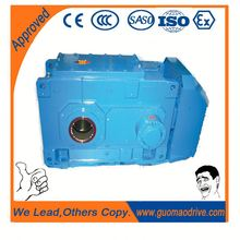 High quality flange mounted right angle gearbox for belt drive
