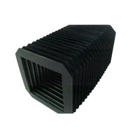 Nylon Accordion Rubber Bellows CNC Retractable