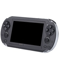 4.3 Inch HD Game Console with Dual Rocker 32 Bit Portable Handheld Game Player Pocket Multimedia Consoles 8 GB MP5 for Boy
