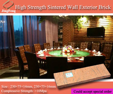 Factory direct sell wall light decorative bricks, Refractory wall exterior brick, face brick