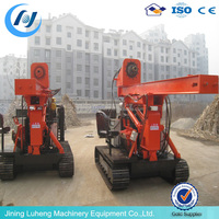 Truck Mounted Hydraulic Highway Guardrail Pile Driver skype:sunnylh3