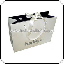Gloss Laminated Luxury Rope Handled Paper Carrier Bags