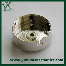 Zinc plating, chrome plating cnc machining parts, cnc turning spare parts