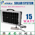 easily assembling and convenient using 15W Solar Tracking System