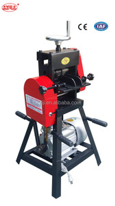 Hot Upper and lower adjustable dual boot scape wire cutting and stripping machine for sale